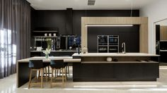'That's the one corner of this kitchen that doesn't feel as sleek and glamorous as everything else,' said Neale.