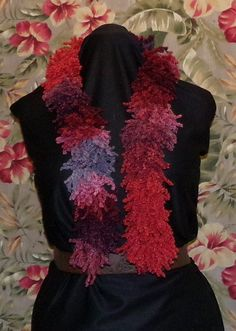 Lovely New Shaggy/Fringy Cowl/ Scarf/Boa Multicolored by munnnzie, $15.00
