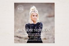 Senior Mini Session Template by TheSeventhDesire Heart Overlay, Photoshop Program, Print Release, Font Names, Photography Marketing, Digital Scrapbook Paper, Mini Sessions, Photoshop Elements, Professional Photographer