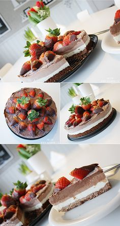 Chokladdessert || Triple Chokolate Cheesecake | HUSnrNIO