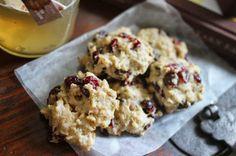 Cranberry Applesauce Cookies // Running Girl Bakes