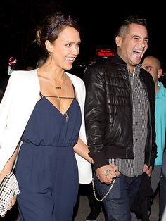 Star Tracks: Monday, January 27, 2014 | LOL | Jessica Alba and hubby Cash Warren enjoy a super fun night out without their adorable daughters at the famed Chateau Marmont in Hollywood on Friday.