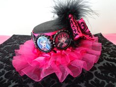 Hot Pink and Black Monster High Party Hat by Time2PartyGifts, $17.50