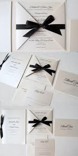 black tie wedding stationery - Google Search