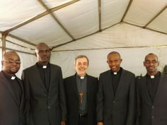 First Consolata Missionaries' deacons in South Africa   Bhubesi