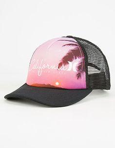 HURLEY Destination Womens Trucker Hat Cute Summer Outfits a2804438971