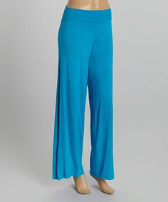 This Aqua Palazzo Pants is perfect! #zulilyfinds
