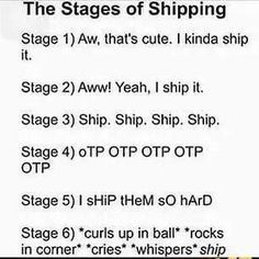 I Lost count off all my ships months ago About the same time i Lost my normal life And became a fangirl