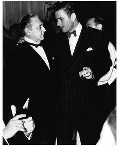 John Barrymore and Errol Flynn