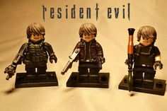 Resident Evil Leon Kennedy Custom Minifigures