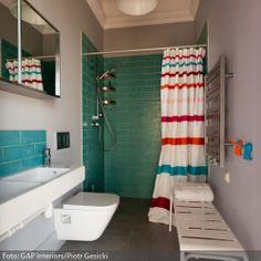 1000 images about badezimmer on pinterest highlights subway tiles and modern - Retro fliesen bad ...