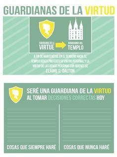 lds printables en español mujeres jovenes - Buscar con Google