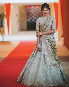 The Prettiest Pastel Colour Combos We Spotted in Lehengas! Indian Lehenga, Indian Wedding Lehenga, Bridal Lehenga, Bollywood Lehenga, Wedding Kurta For Men, Wedding Dresses Men Indian, Indian Bridal Outfits, Lehenga Choli Designs, Saree Blouse Designs