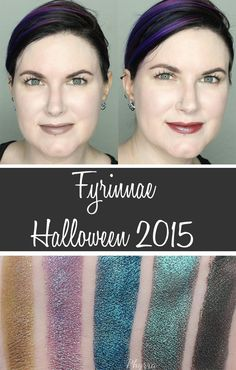 Phyrra shares the Fyrinnae Halloween 2015 Collection plus a ton of bonus lipstick swatches. Check out these gorgeous, multidimensional complex colors!