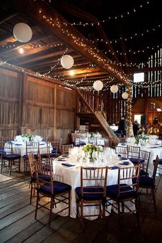 wedding reception rustic venue wedding in Virginia. Gorgeous