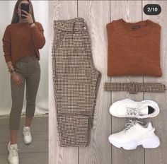Classy Work Outfits, Cute Casual Outfits, Stylish Outfits, Girls Fashion Clothes, Winter Fashion Outfits, Fall Outfits, Mode Outfits, Korean Outfits, Mode Style