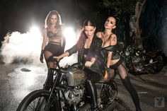 Biker pinups (ultimate sexual fantasy true american dream or matriarchy)