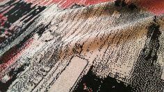 NEUE DESTRUKTION   knitted exponat www.neue-destruktion.info   Juliane Gutschmidt