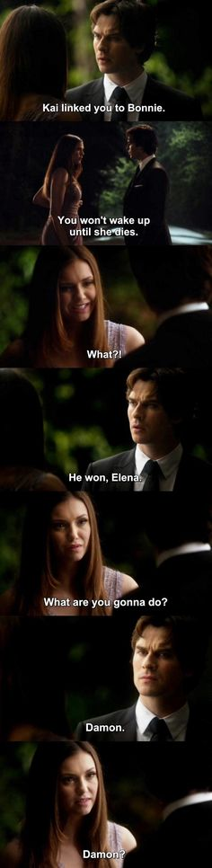 The Vampire Diaries TVD 6X22 - Damon & Elena