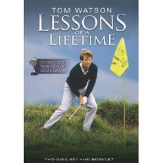 Tom Watson Lessons of a LifeTime Golf 2 Disc DVD --- http://www.amazon.com/Watson-Lessons-LifeTime-Golf-Disc/dp/B0041TH69O/?tag=tadist-20