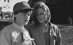 What's Eating Gilbert Grape  Look how young they both are!