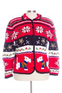 Multicolor Ugly Christmas Cardigan 29344