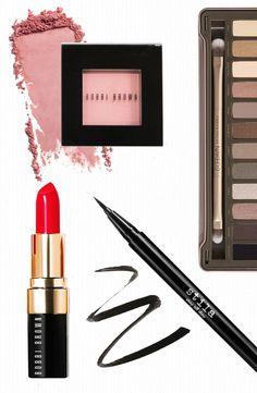 Classic beauty necessities: http://www.stylemepretty.com/little-black-book-blog/2015/06/21/bridalbeautybreakdown-classic-glamour/ | Tips: Ariel Lewis - http://www.ariellewis.com/