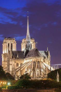 #Paris dort et @notredameparis brille...Bonne #nuit #Paris ! #tourisme #tourism