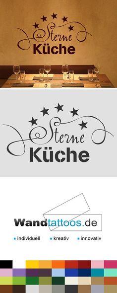 Futterwerkstatt Wand Tattoo Küche Aufkleber AA069