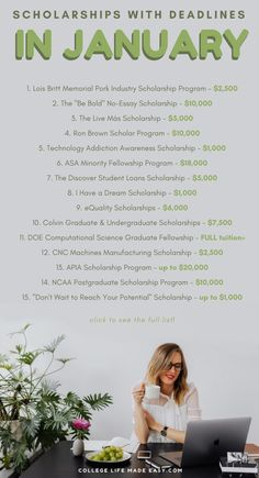 Scholarships of January 32 that will make you sigh with relief – Earn College Scholarships College Life Hacks, Life Hacks For School, School Study Tips, College Tips, School Tips, College Ready, Financial Aid For College, College Courses, Education College