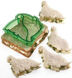 I would totally eat more sandwiches this way.