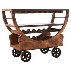 Emerson Bar Cart - The Industrial Loft on Joss & Main