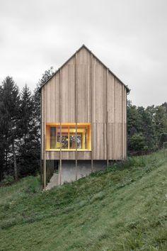 Modern Farmhouse in Laterns, Austria by Bernardo Bader Architekten | http://www.yellowtrace.com.au/modern-farmhouse-austria-bernardo-bader-architekten/