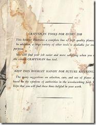 SCAN0259 Stanley Plane, Sears Craftsman, Hand Saw, Vintage Tools, Restoration