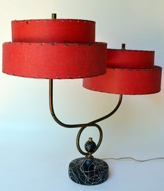 Mid Century Modern ALL ORIGINAL Table Lamp by AcostaArtAndDesign, $2100.00