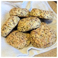 Flourless & Egg Free Seed Paleo Bread Rolls (Sub Oil! Egg Free Recipes, Raw Food Recipes, Low Carb Recipes, Snack Recipes, Cooking Recipes, Snacks, Bread Recipes, Yummy Recipes, Eating Light