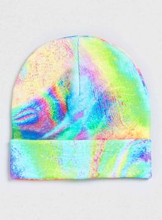 More Beanies: Topman - Rave Printed Large Beanie Topman - Neon Oil Slick Printed Beanie Now Oils, Curated Shopping, Psychedelic, Iridescent, Favorite Color, Color Schemes, Cool Style, Design Inspiration, Fashion Inspiration