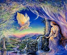 """Whispered Dreams (zoom 1)"" par Josephine Wall"