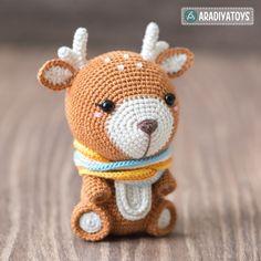 Deer Kira Amigurumi Pattern