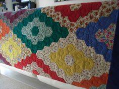 Sunflower Quilting: Hexagon Quilt 2
