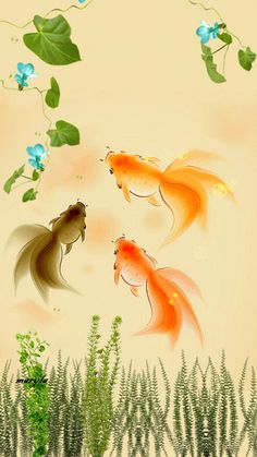 Gold fish animated wallpaper - photo#25