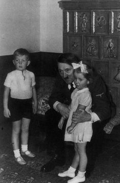 Adolf Hitler.. i would not let him around mine and it aeema like every child he has been around was scared