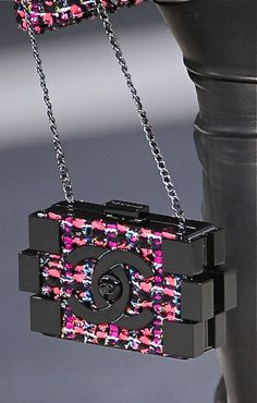 Chanel at Paris Fall 2013 (Details) - handbag, fall, crossbody, kate spade, demoda, vintage purse *ad