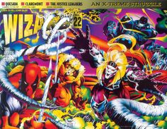 Deadpool, Stryfe, Omega Red, Sabretooth and Apocalypse by Joe Quesada