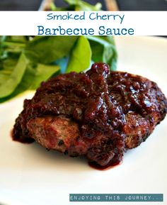 This smoked cherry barbecue sauce is sumptuous, smoky, and sweet! Without nightshades, it is an autoimmune protocol paleo friendly sauce!