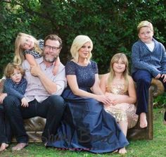 Tori Spelling 43 welcomes FIFTH child - Hattie Baby Name - Ideas of Hattie Baby Name - Newest addition: Tori and Dean pictured with their children Liam nine Stella eight Hattie five and Finn four Dean Mcdermott, Celebrity Baby News, Unusual Baby Names, Pregnant Celebrities, Holiday Pictures, Names With Meaning, Girls Show, Bridesmaid Dresses, Wedding Dresses