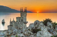 swallows nest castle,ukraine