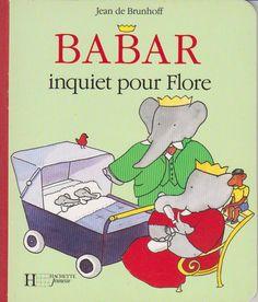 BABAR INQUIET POUR FLORE - JEAN DE BRUNHOFF
