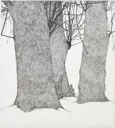 Art Hansen(American, b.1929)Alder Grove 1976 etching via