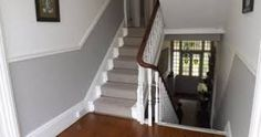 Image result for dado rail living room wall two colours